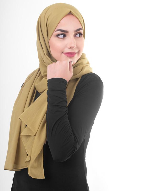 Light green hijab scarf