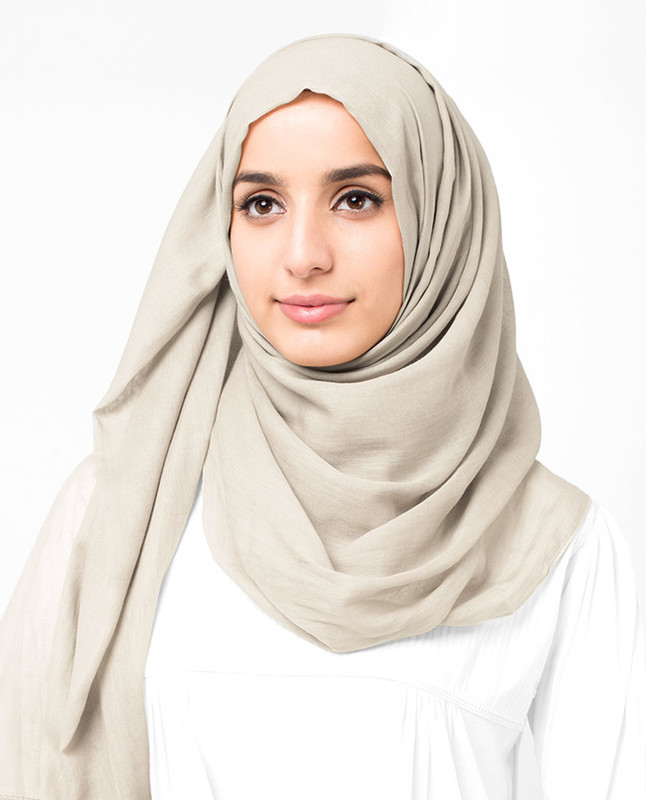 Summer comfort hijab scarf