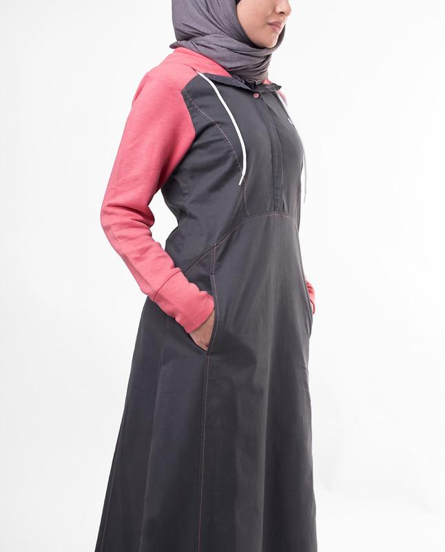 Fashionable Pink abaya jilbab