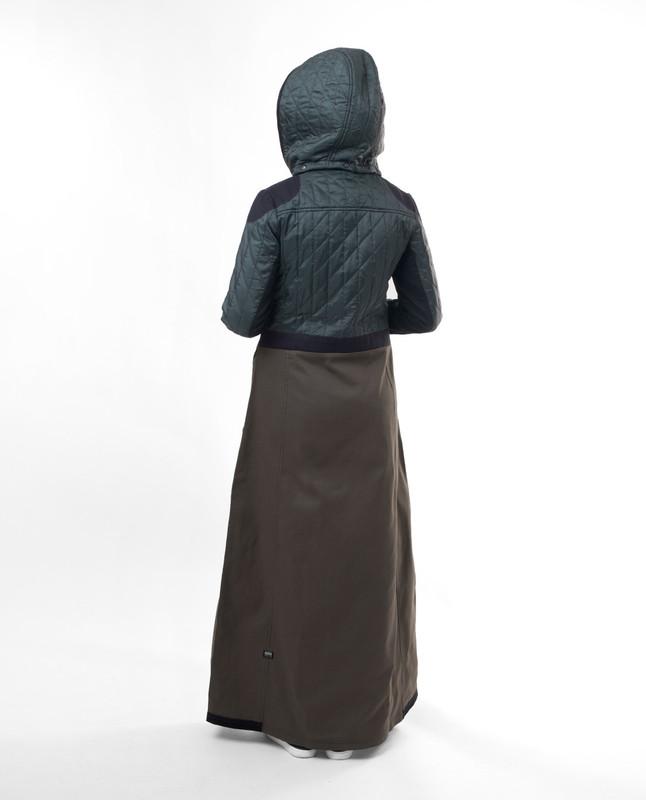 winter sports jilbab abaya