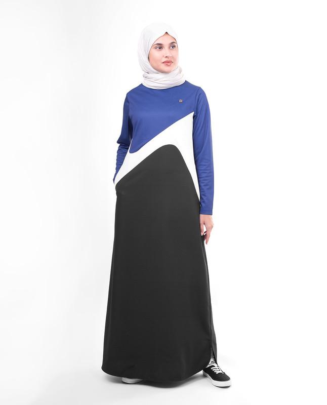 Knit abaya jilbab