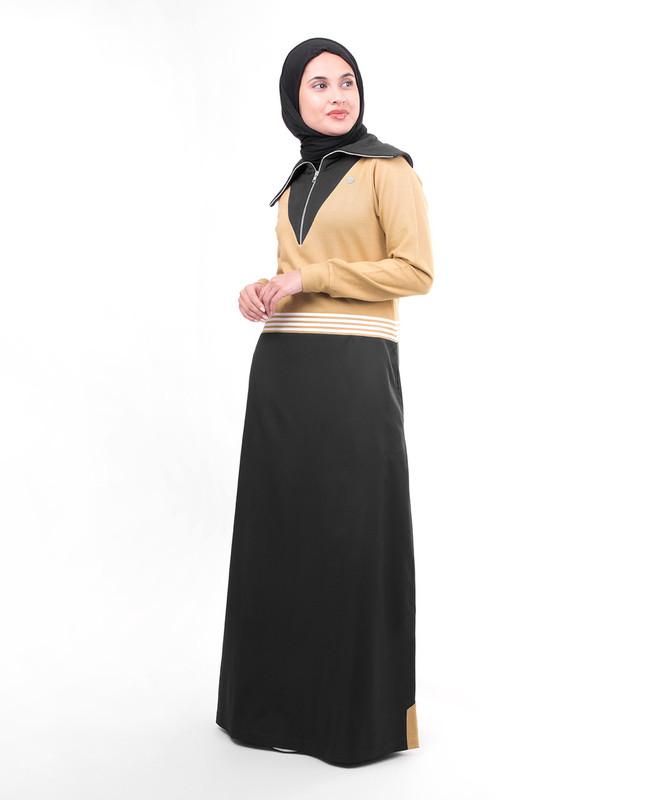 Heavy jersey abaya jilbab
