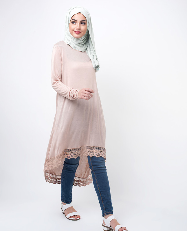 Long Modest Tunic Top