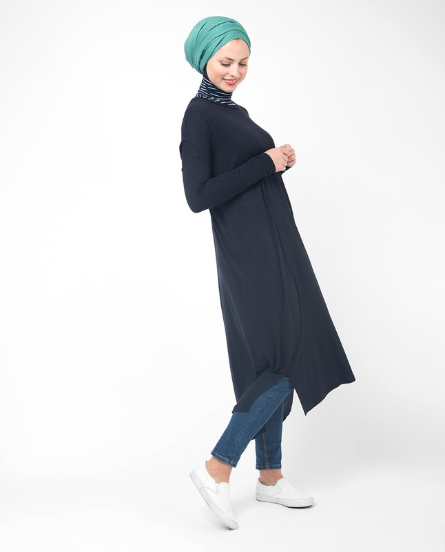 long black tunic style tops and dresses