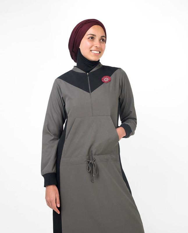 Buy grey abaya jilbab online