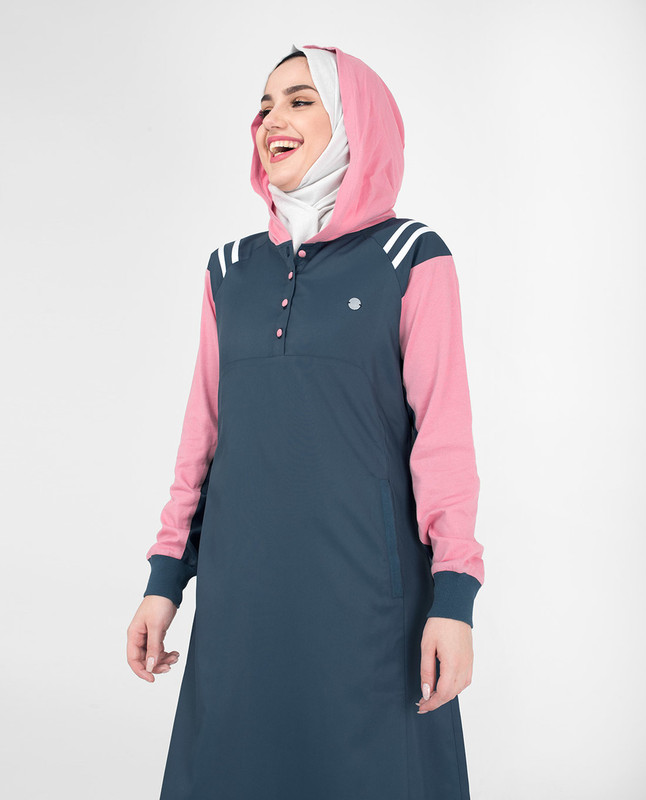 Hoodie abaya jilbab