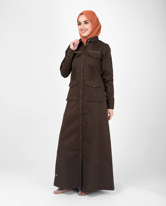 Buy brown abaya jilbab