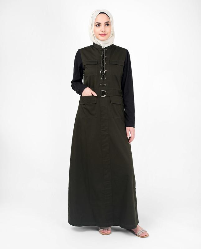 Buy green abaya jilbab