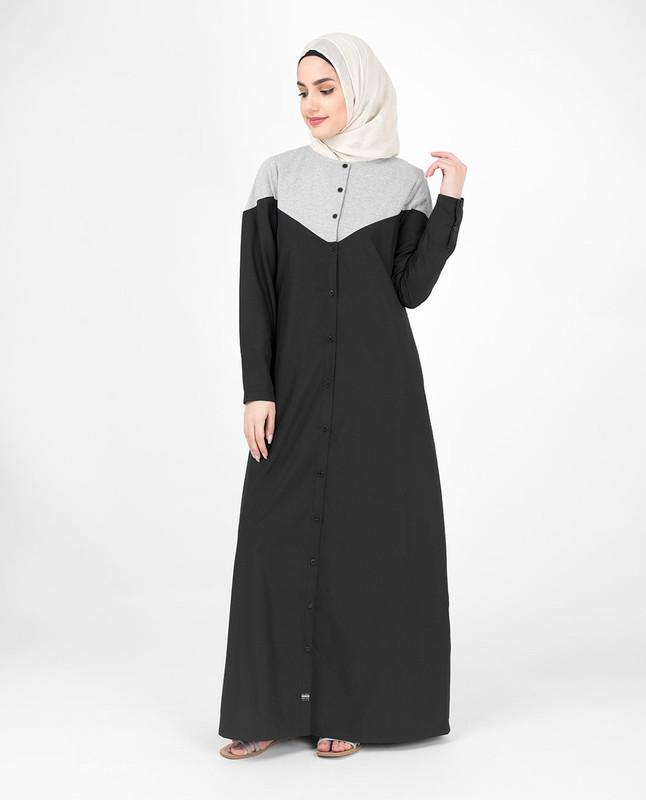 Buy online black abaya jilbab