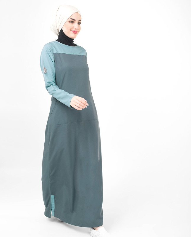 Summer cotton abaya jilbab