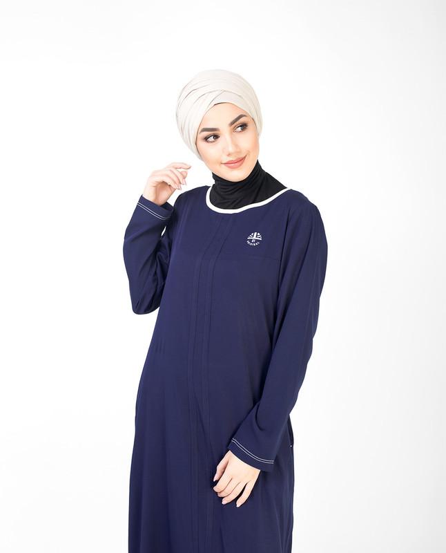 Navy Casual Jilbab