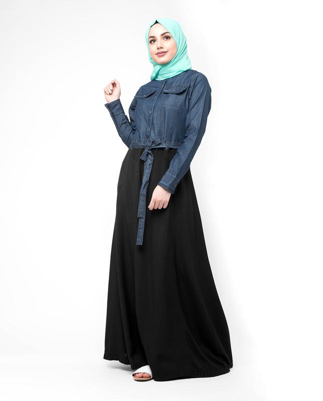 belt type abaya jilbab