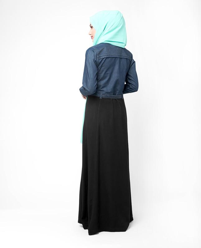 Shirt dress abaya jilbab