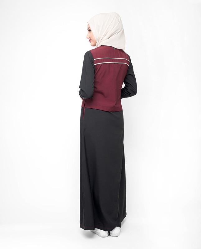 Summer black abaya jilbab