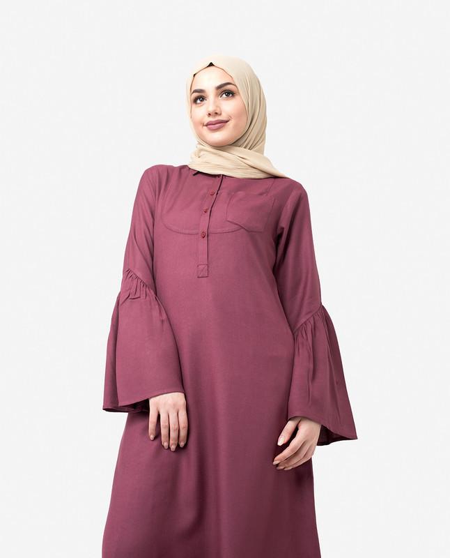 Classic Bell Sleeve Jilbab