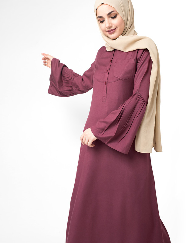 Special occasion abaya jilbab