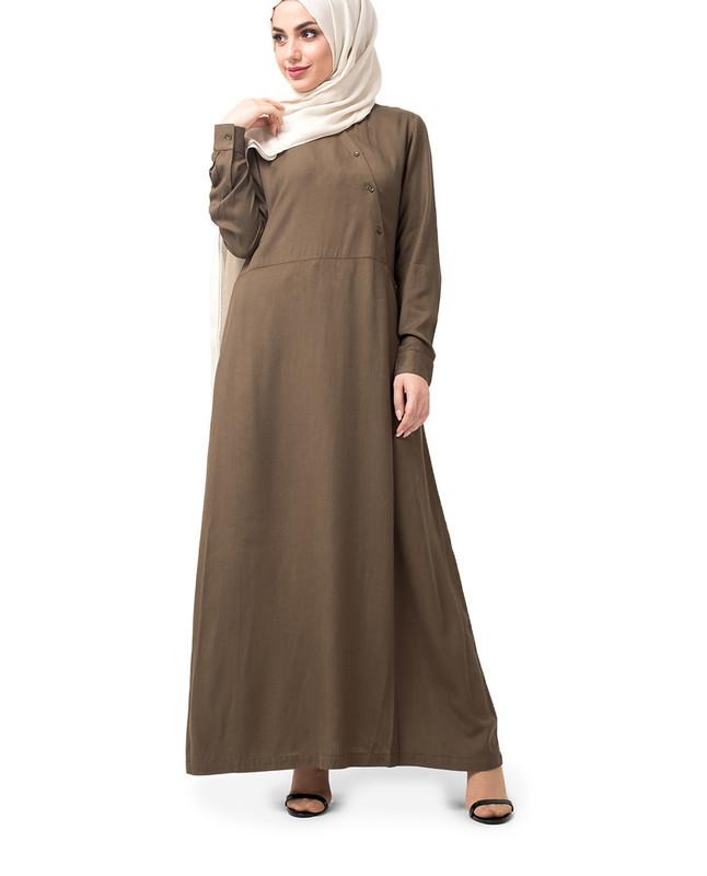 Oriental Olive Abaya