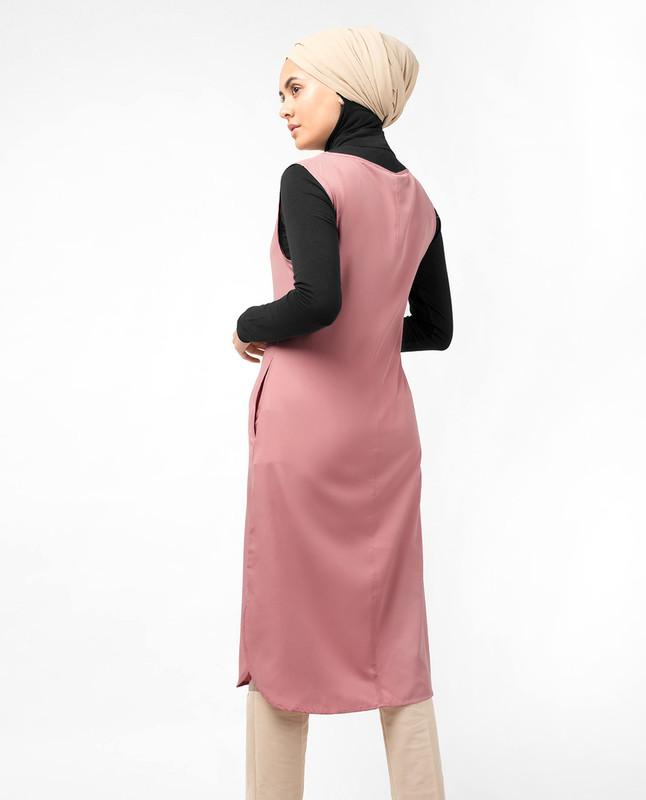 Dusty Pink Slip Dress