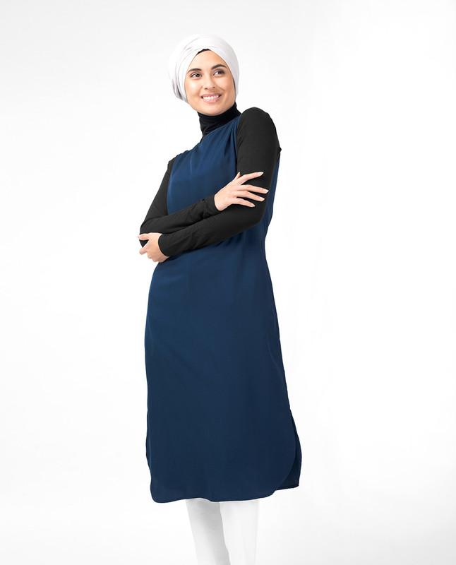 Teal Slip Dress