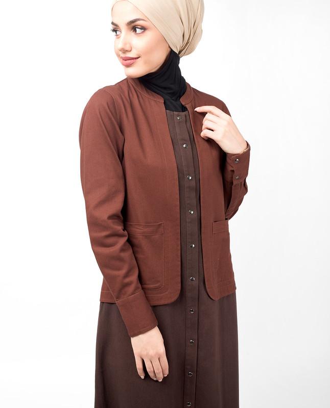 Oxford Vintage Brown Jilbab