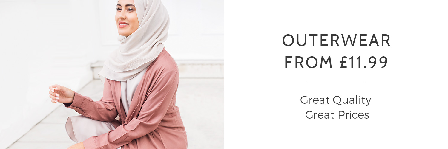 Abayas and Jilbabs from £34.99