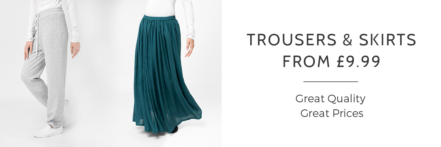 Trouseres and Skirts from 9.99