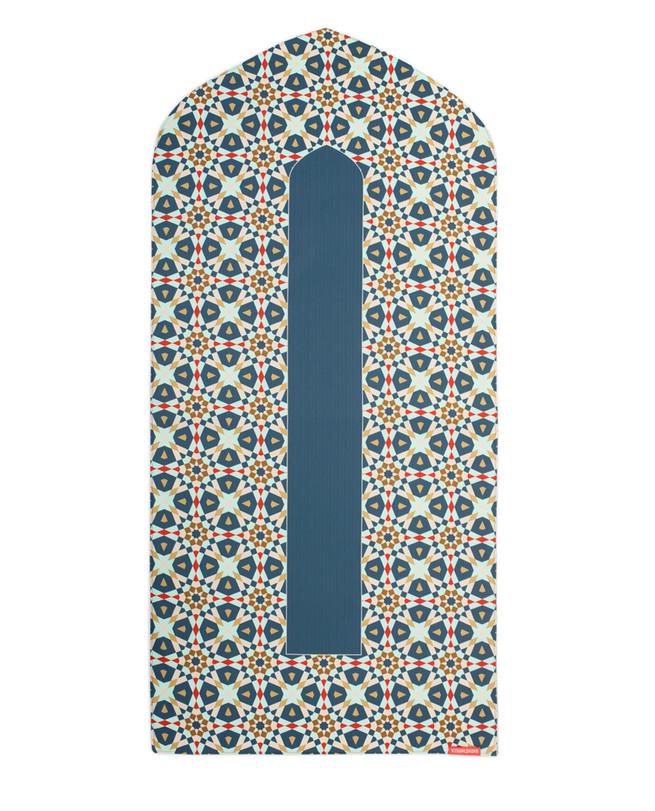 Geometric Arch Shaped Prayer Mat Rug Prayer Rug Mosque Rug