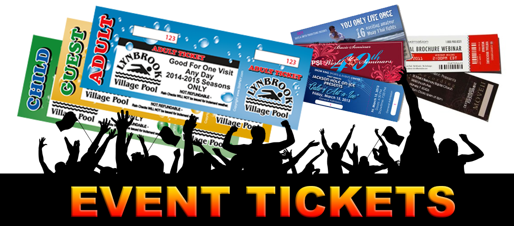 Event Ticket Printing Long Island images