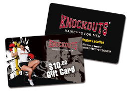 KNOCKOUTS Plastic cards Graphic Design & Printing SMP