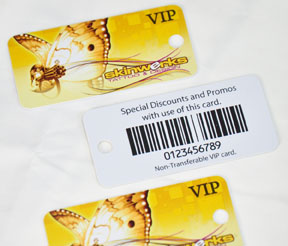 plastic business card printing NY and Long Island
