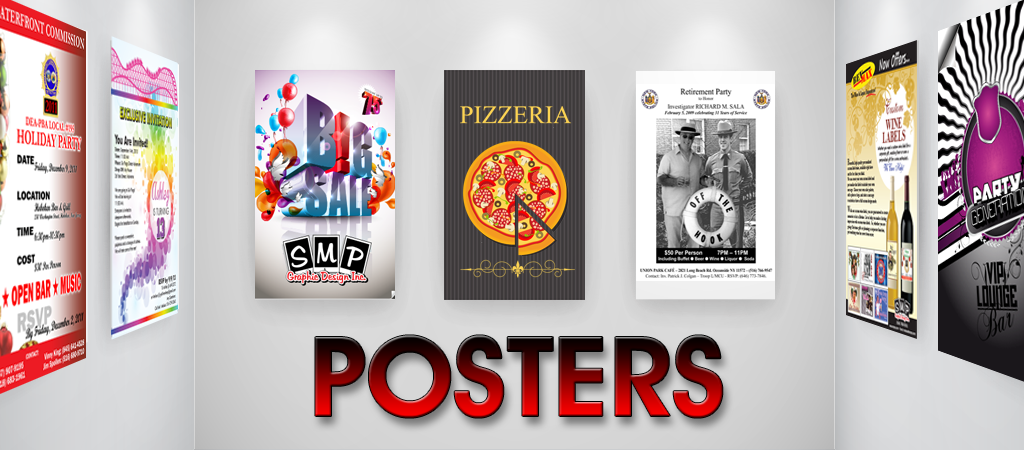 Poster Printing In New York and Long Island