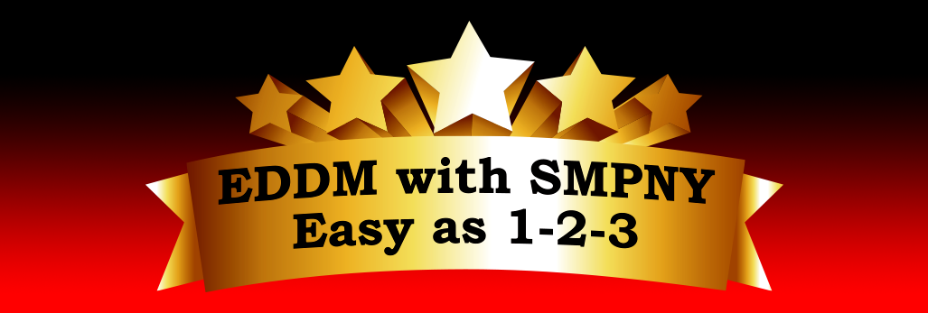 EDDM Every Door Direct Mail with SMPNY Easy as