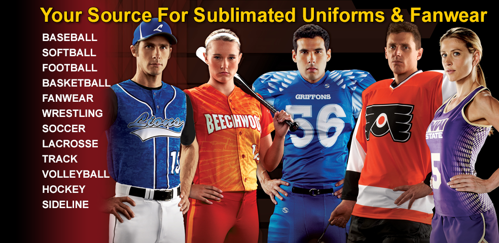 Sublimated Uniforms & Fan wear