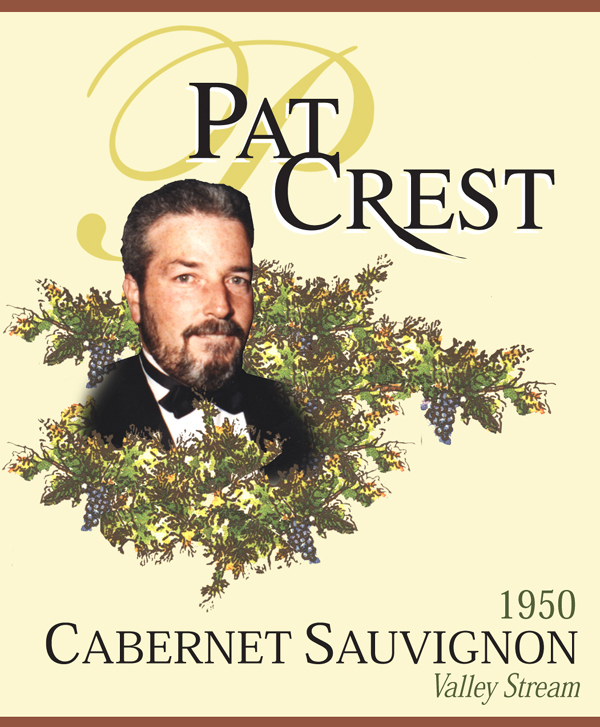 Pat Crest Wine Label Printing images New York and long island