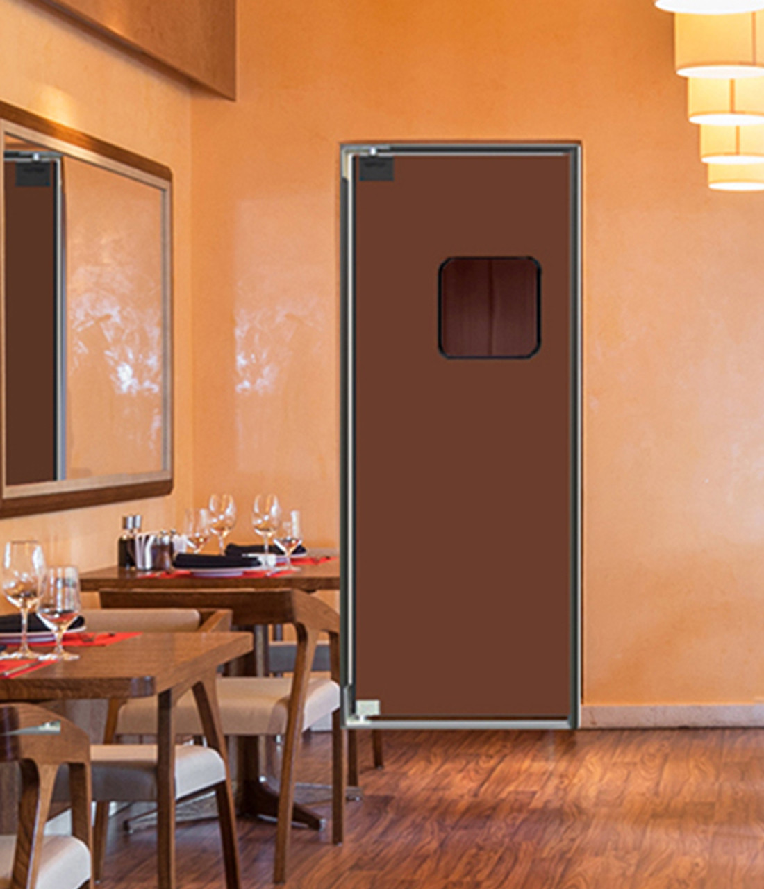 Wood Free Swinging Doors & Wood Free Swing Doors Engineered with No Wood or Organic Material