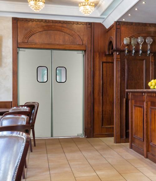Aluminum Swinging Kitchen Door