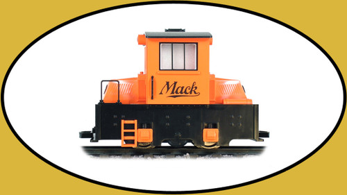 Hartland Locomotive Works Mighty Mack Engine in Orange