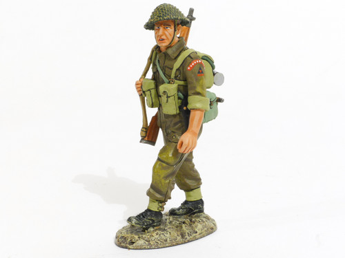 World War II D. Day '44 British Sling Arms Collectible Soldier DD169