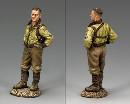 King & Country DD262 War Daddy Sherman Tank Commander American D-Day