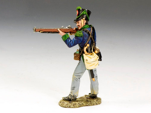 King & Country RTA062 Cazadores Standing Firing Remember the Alamo