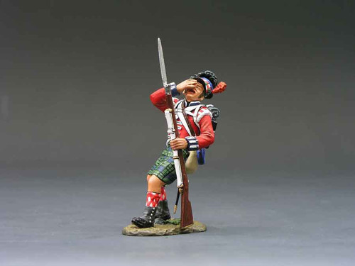 King & Country NA068 Black Watch Wounded Highlander Age of Napoleon