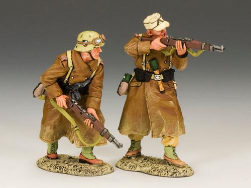 King & Country AK079 Afrika Korps Rifle Section World War II