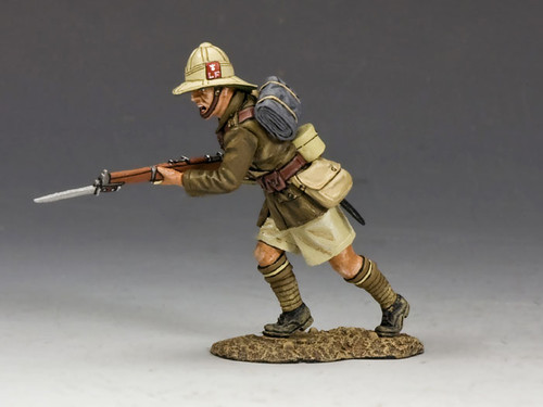King & Country ME004 Charging Lancashire Fusiliers Middle East World War I