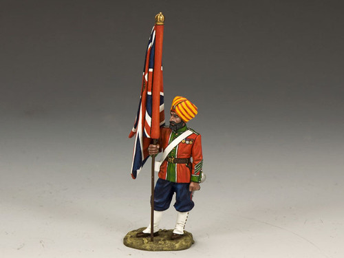King & Country SOE014 Indian Flag Bearer Sons of the Empire