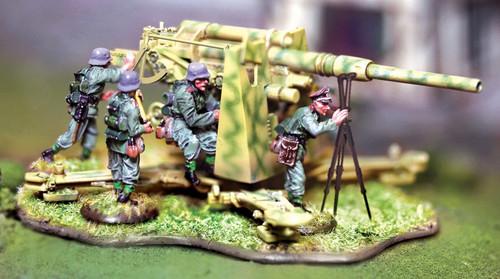 Collectors Battlefield CBG053 FLAK 8.8cm 88mm German Artillery Gun