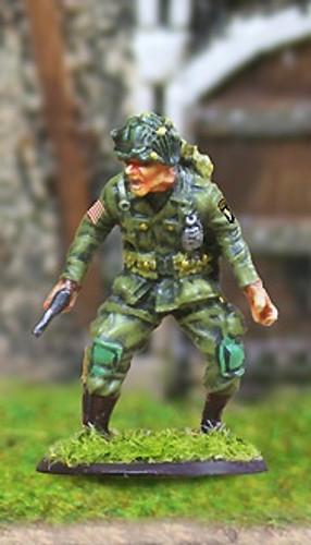 Collectors Battlefield CBA029 101st Airborne Lt. Col. Cole