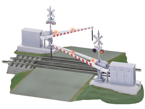 Lionel  6-12062 Fastrack Grade Crossing with Gates and Flashers