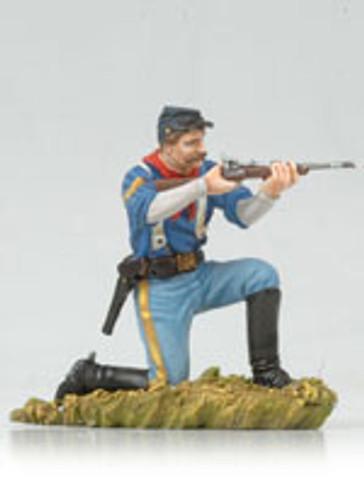 Andrea Black Hawk BH0119 Kneeling US Cavalryman Shooting Carbine
