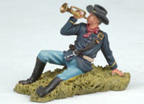 Andrea Black Hawk BH0108 US Bugler Laying on the Ground