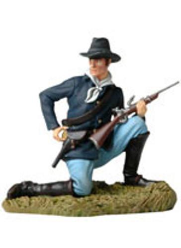 Andrea Black Hawk BH0116 Kneeling US Cavalryman Loading Carbine